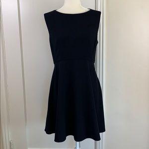 French Connection vintage black skater dress